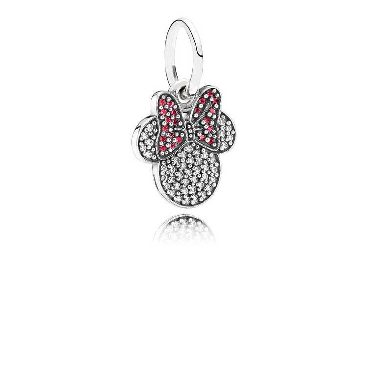 Charm Emblema brillante de minnie