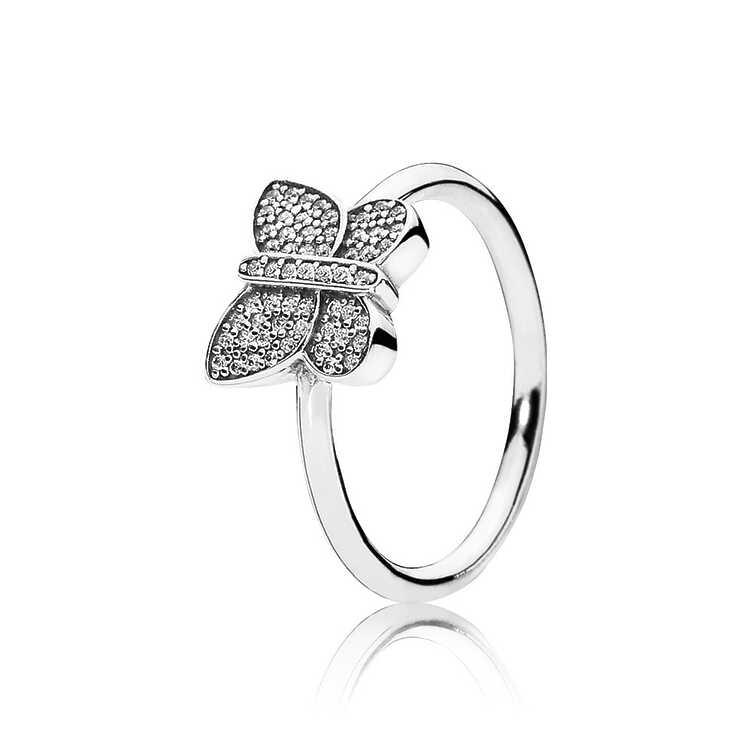 Anillo Mariposa brillante