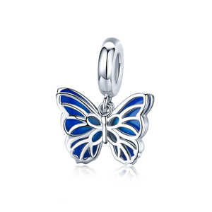 Charm Mariposa azul, colgante