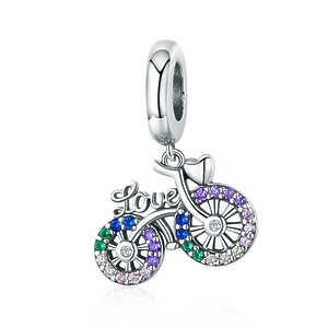 Charm Bicicleta love, multicolor