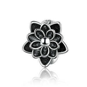 Charm Loto flor negro, separador