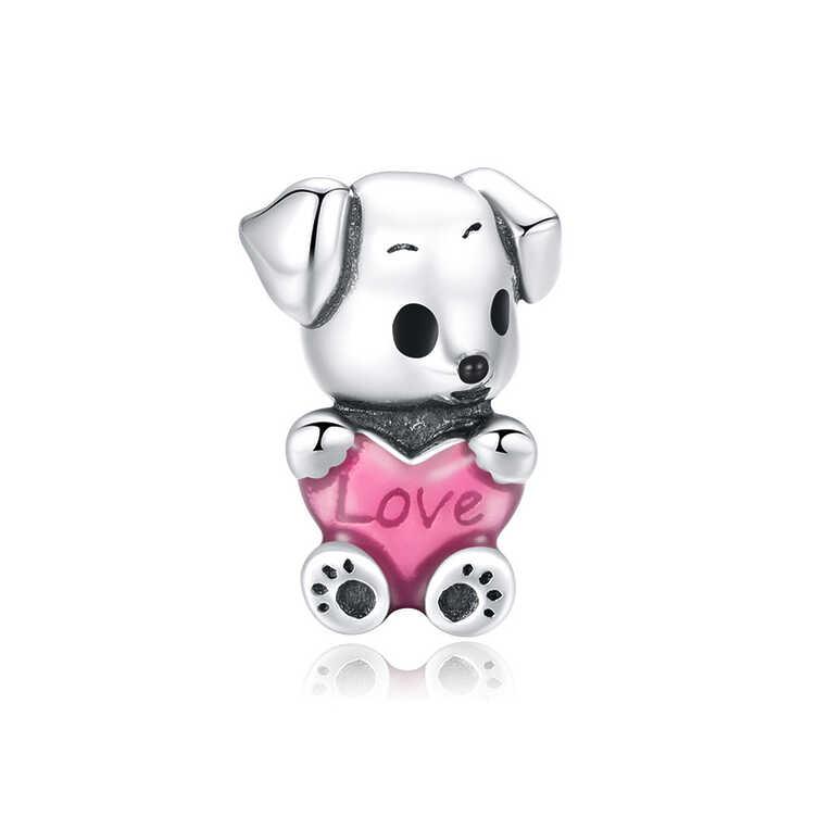 Charm Cachorro con corazón