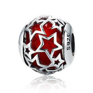 Charm Estrellas radiantes, rojo