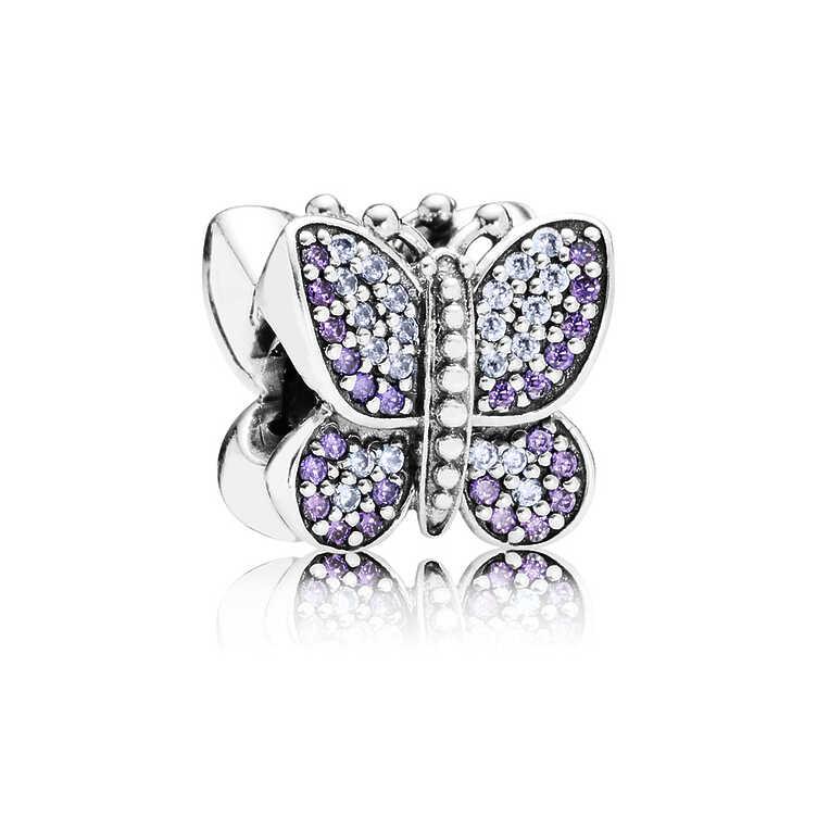 Charm Mariposa brillante